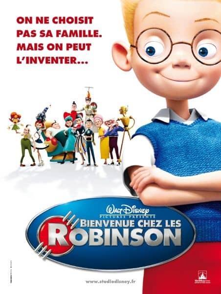 L'affiche de Bienvenue chez les Robinson