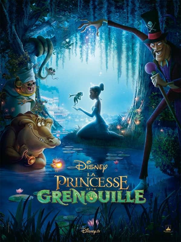 L'affiche de La Princesse et la Grenouille