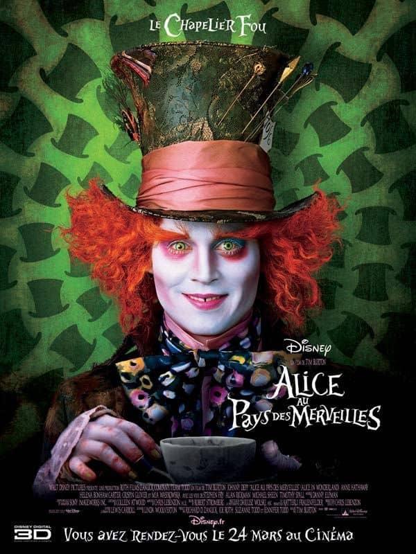L'affiche de Alice au Pays des Merveilles