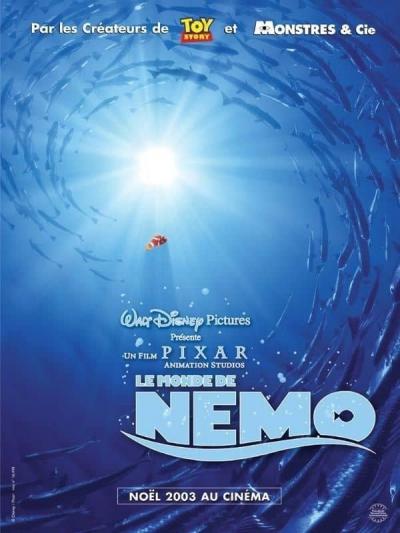 L'affiche de Le Monde de Nemo