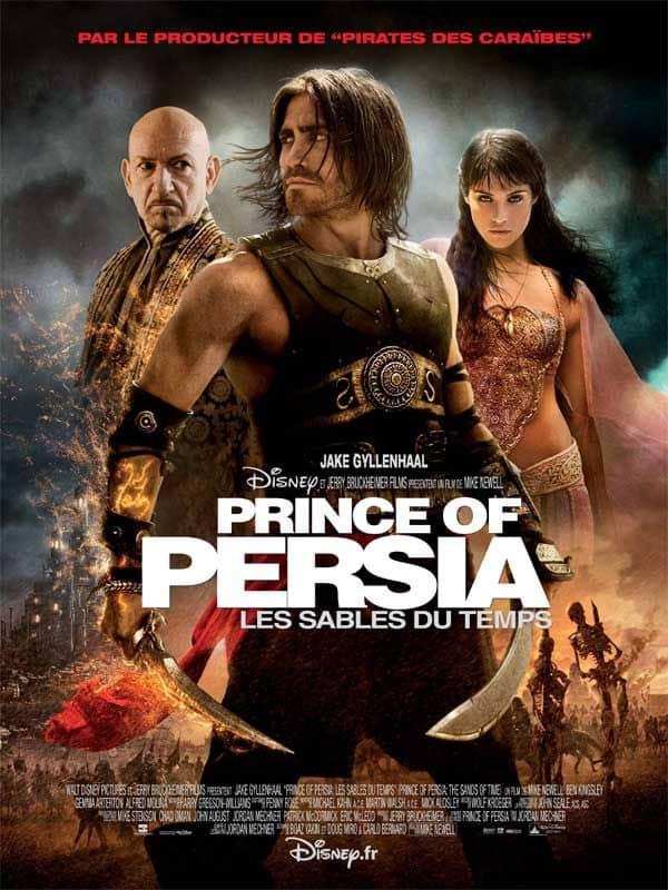 L'affiche de Prince of Persia: Les sables du temps