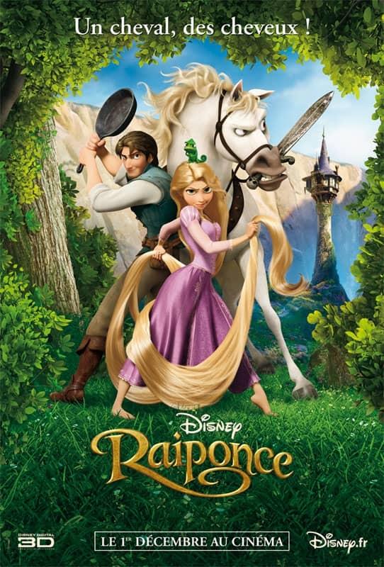 L'affiche de Raiponce