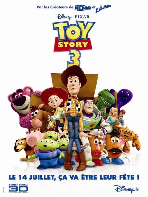 L'affiche de Toy Story 3