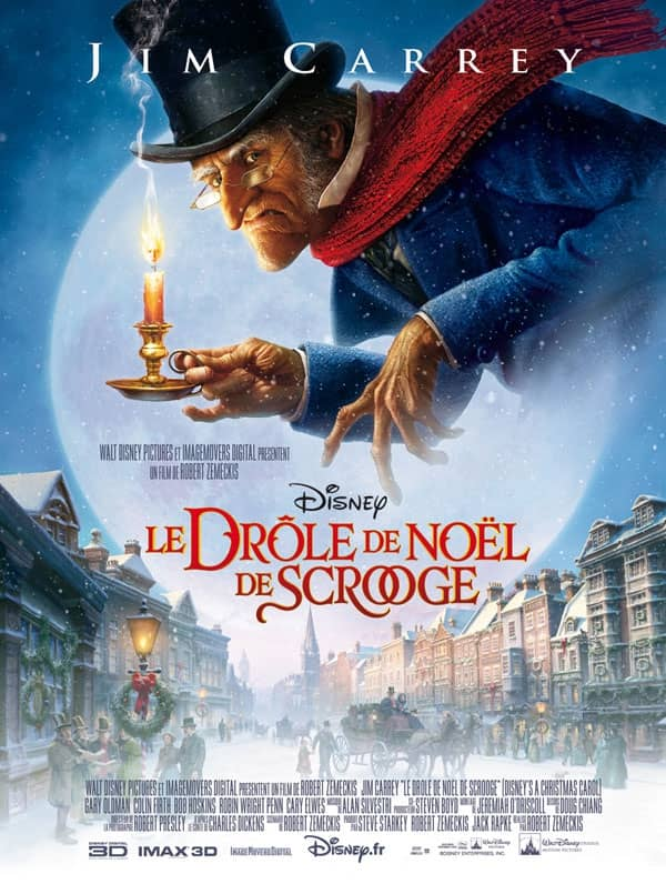 L'affiche de Le Drôle de Noël de Scrooge
