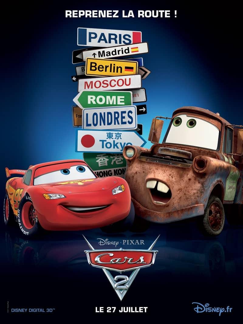 L'affiche de Cars 2