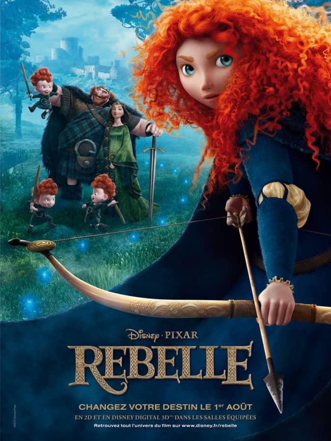 L'affiche de Rebelle