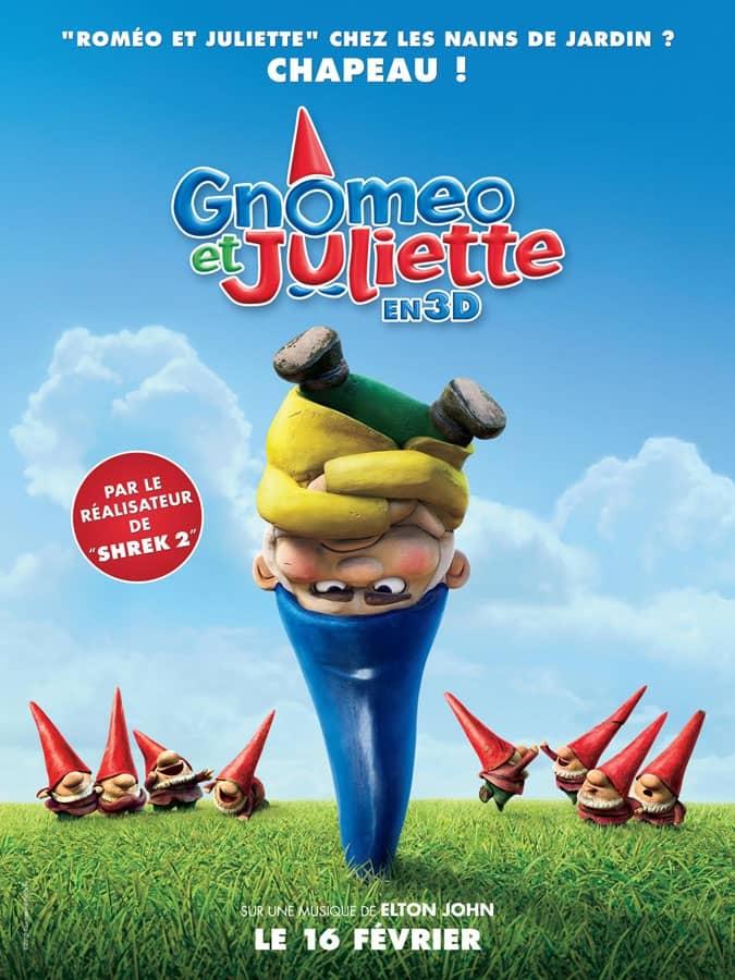 L'affiche de Gnoméo et Juliette