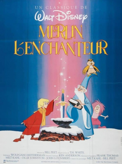 L'affiche de Merlin l'enchanteur