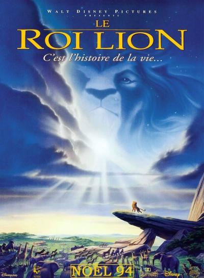 L'affiche de Le Roi Lion