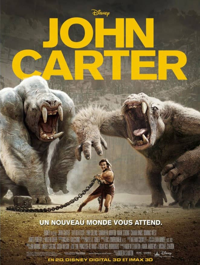 L'affiche de John Carter