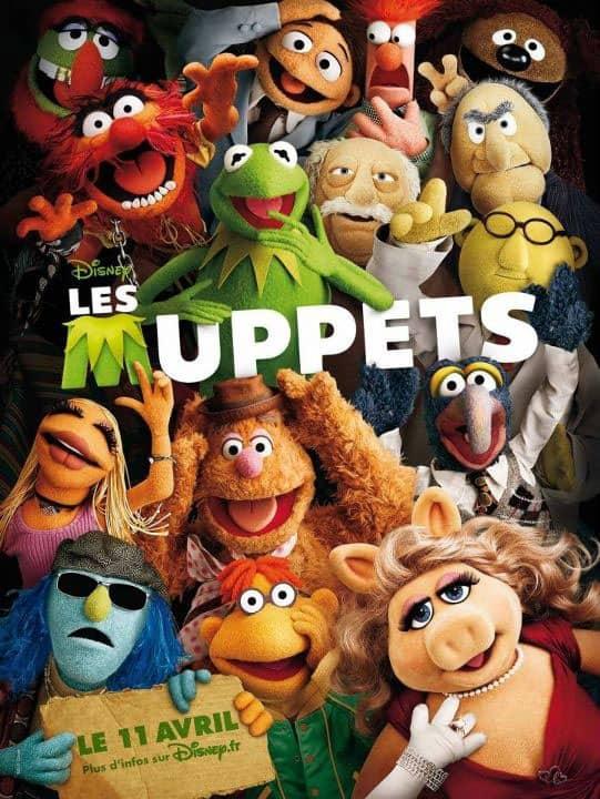 L'affiche de Les Muppets: Le retour