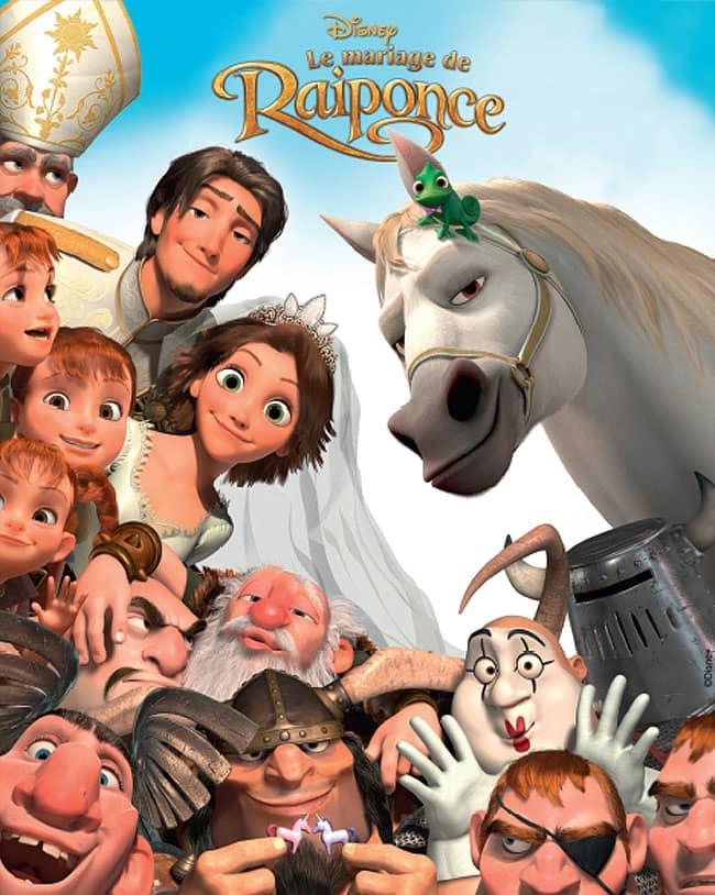 L'affiche de Le Mariage de Raiponce