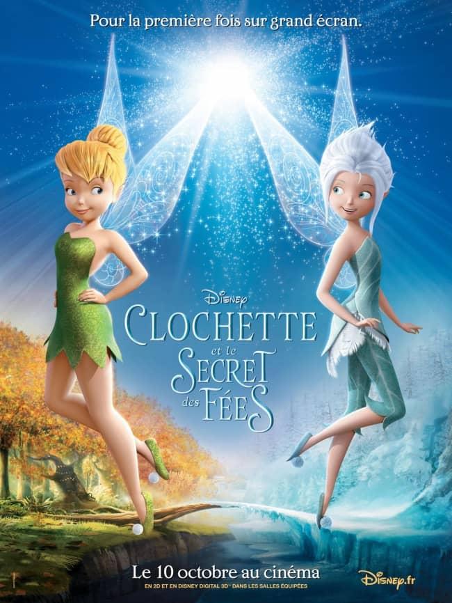 L'affiche de Clochette et le Secret des Fées