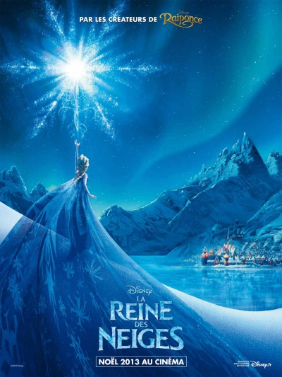 L'affiche de La Reine des Neiges