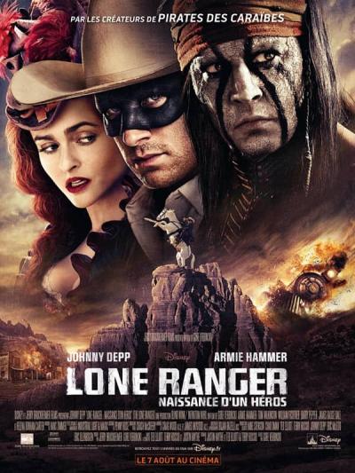 L'affiche de Lone Ranger: Naissance d'un héros