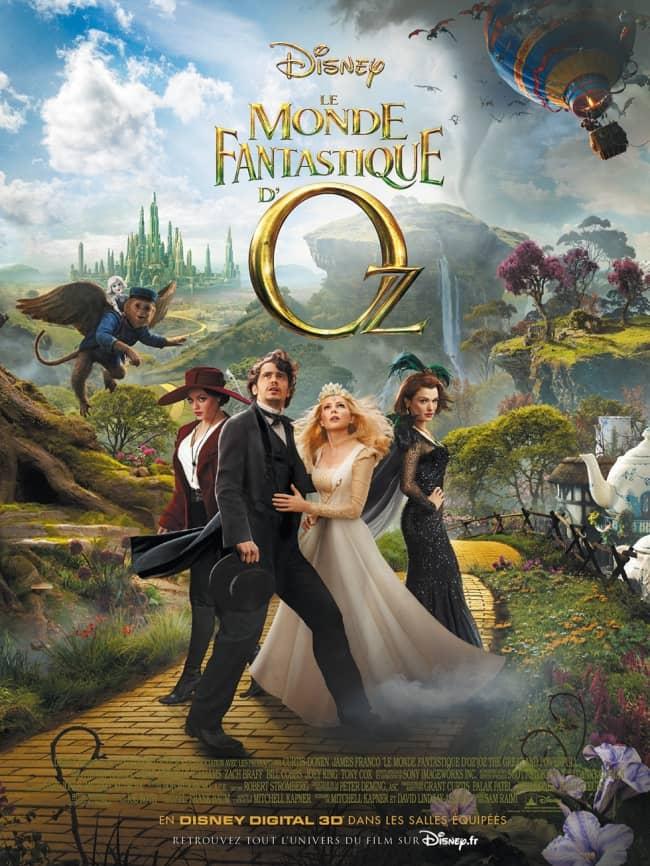 L'affiche de Le Monde Fantastique d'Oz