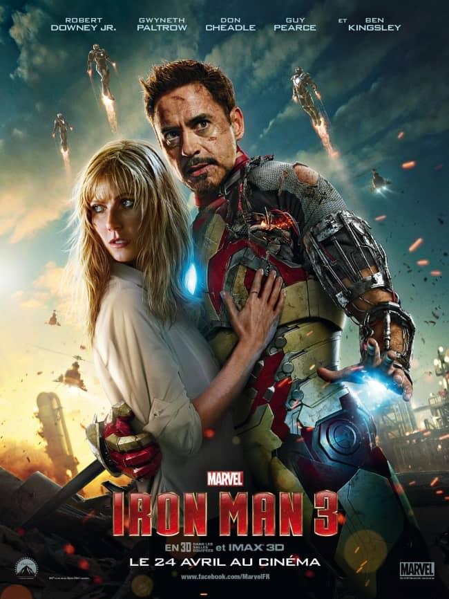 L'affiche de Iron Man 3