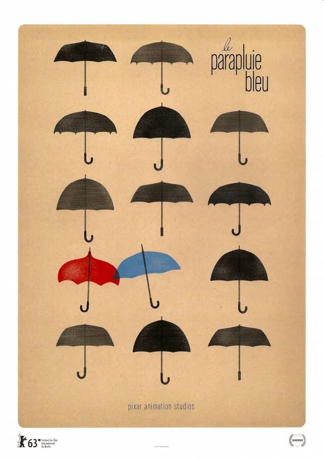 L'affiche de Le Parapluie Bleu