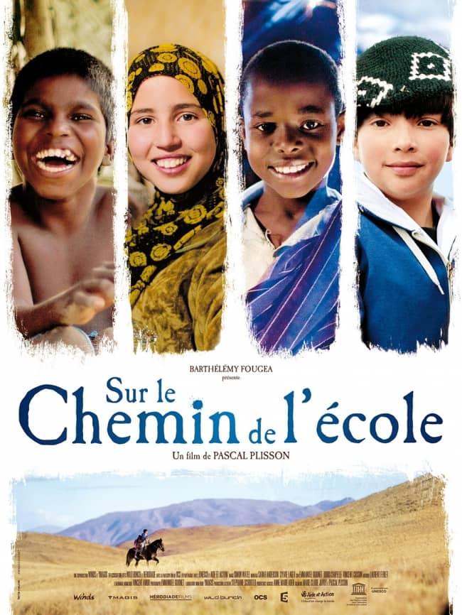 L'affiche de Sur le chemin de l'école