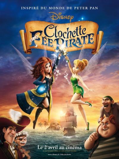 L'affiche de Clochette et la Fée Pirate
