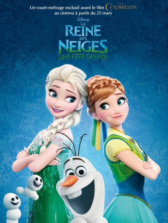 L'affiche de La Reine des Neiges - Une fête givrée