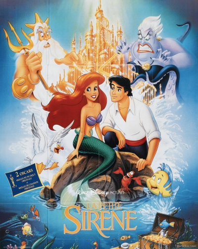 L'affiche de La Petite Sirène