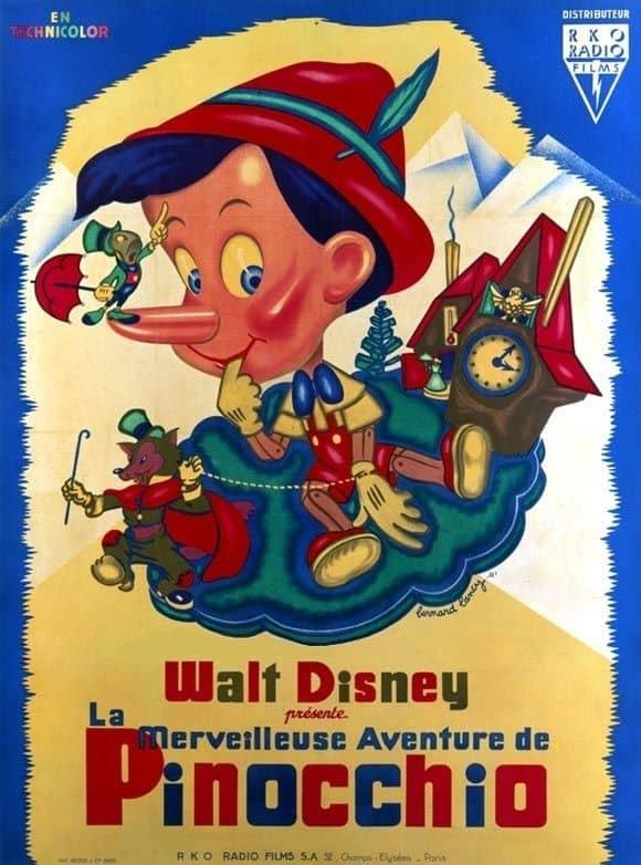 L'affiche de Pinocchio