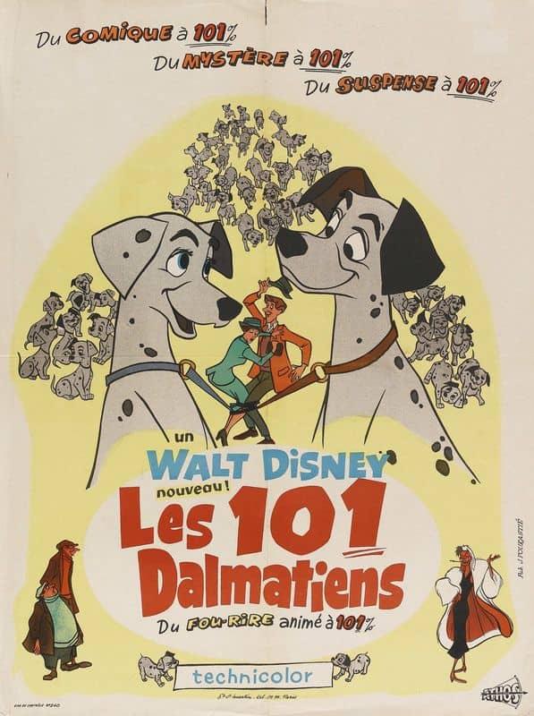L'affiche de Les 101 Dalmatiens