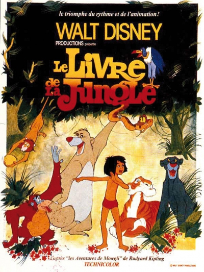 L'affiche de Le Livre de la jungle