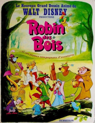 Robin des Bois  DisneyPixarfr ~ Walt Disney Robin Des Bois