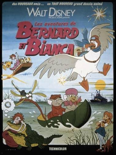 L'affiche de Les Aventures de Bernard et Bianca