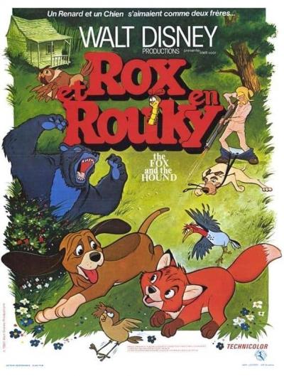 L'affiche de Rox et Rouky