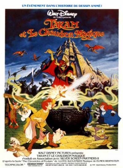 L'affiche de Taram et le Chaudron magique