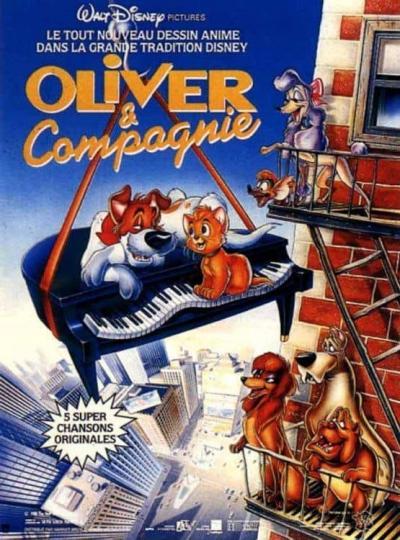 L'affiche de Oliver et compagnie