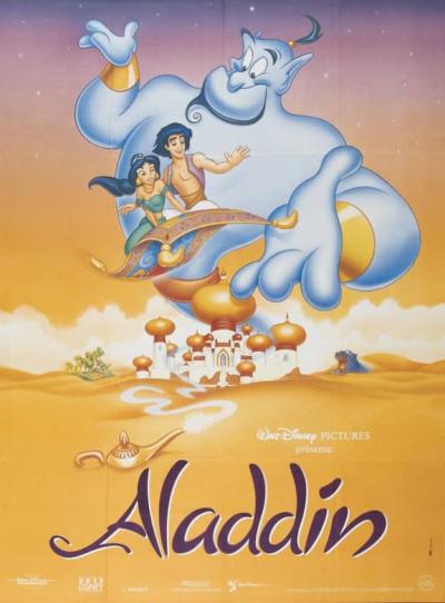 L'affiche de Aladdin