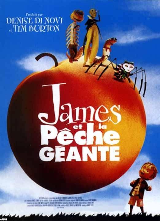 L'affiche de James et la pêche géante