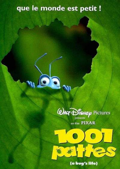 L'affiche de 1001 pattes