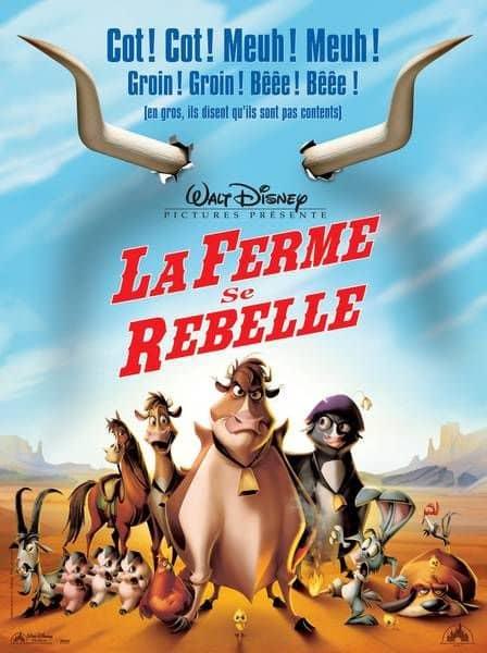 L'affiche de La Ferme se rebelle
