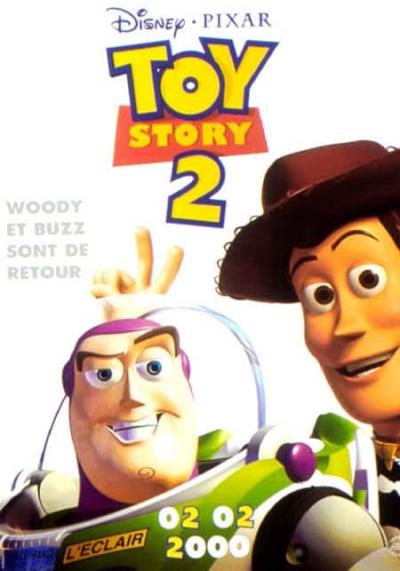 L'affiche de Toy Story 2