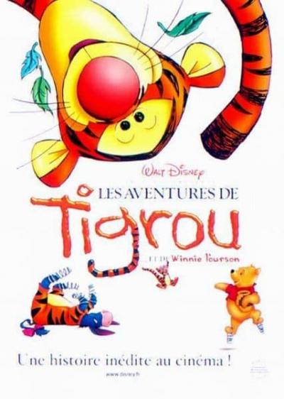 L'affiche de Les Aventures de Tigrou