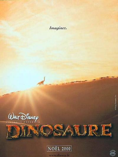L'affiche de Dinosaure