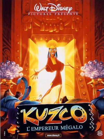 L'affiche de Kuzco, l'empereur mégalo