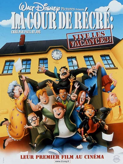 L'affiche de La Cour de récré - Vive les vacances!