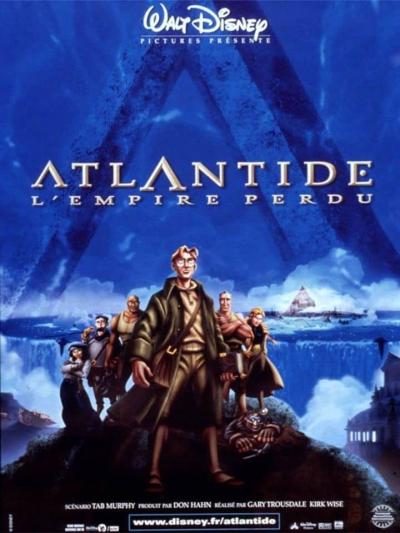 L'affiche de Atlantide, l'empire perdu