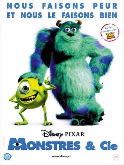 L'affiche de Monstres & Cie