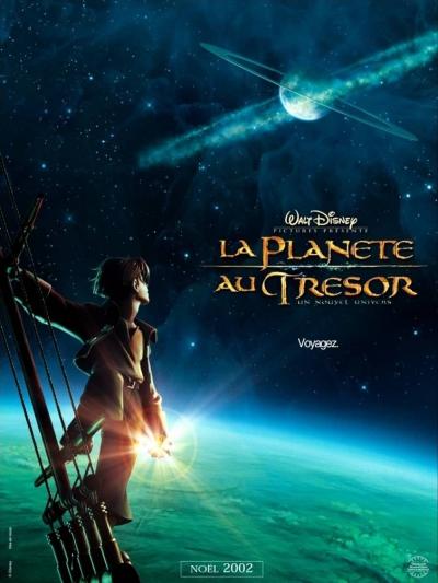 L'affiche de La Planète au trésor: un nouvel univers