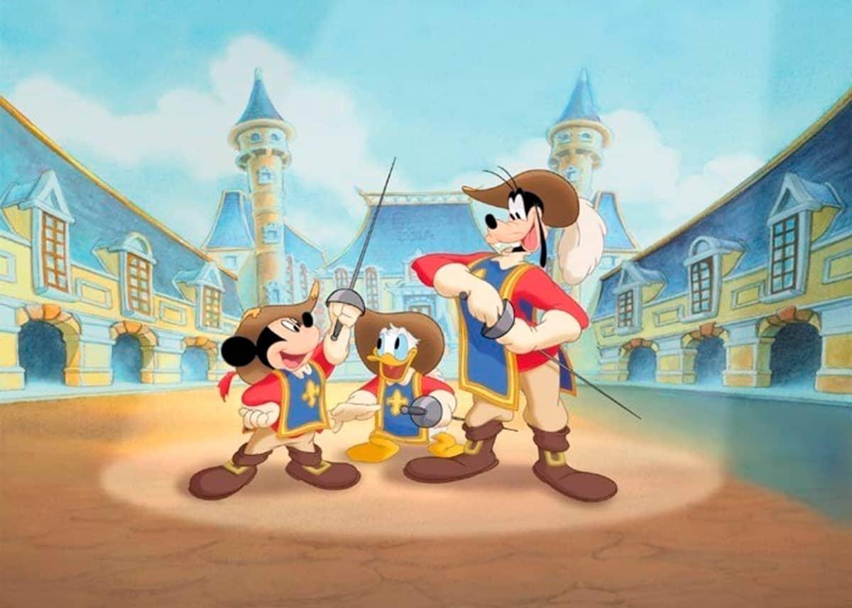 Mickey donald dingo les trois mousquetaires - Mickey les 3 mousquetaires ...