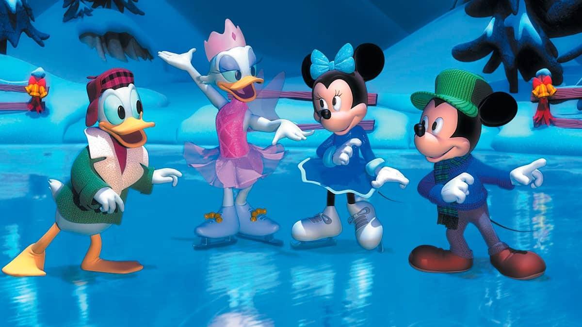 Mickey il tait deux fois no l - Le noel de pluto ...