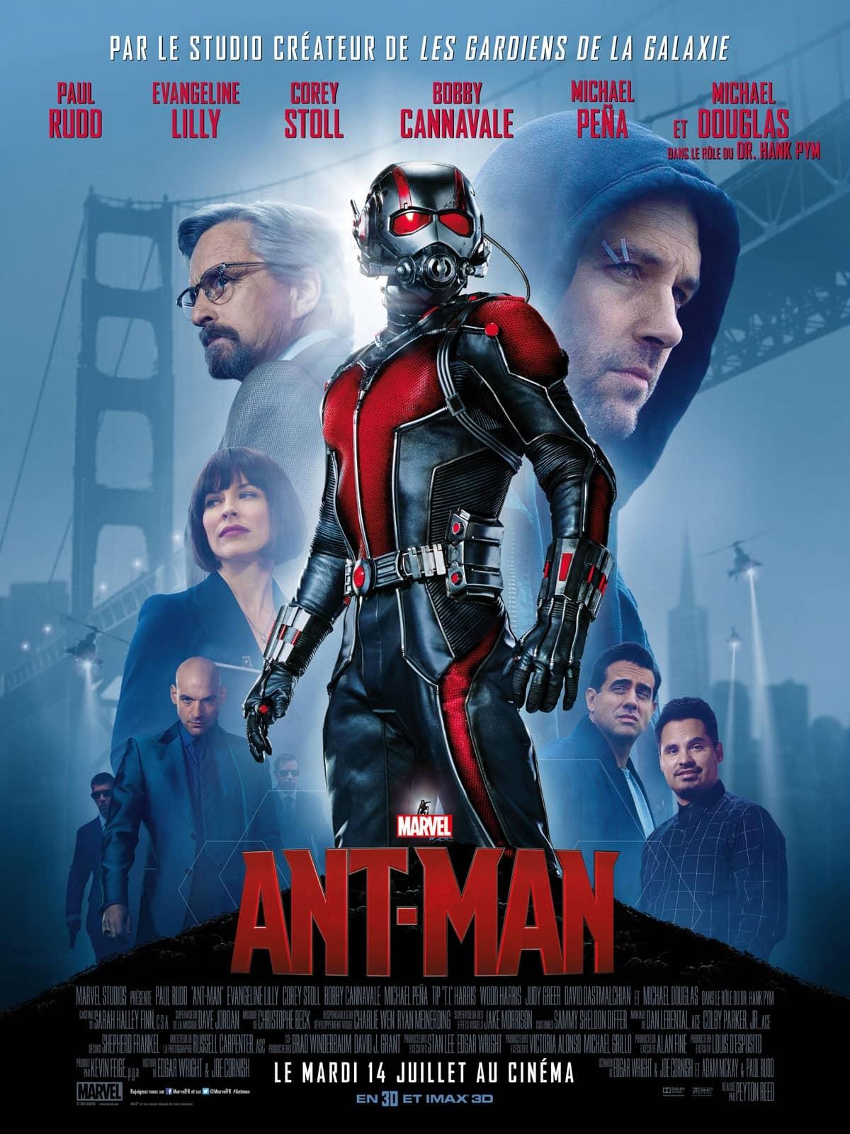 L'affiche de Ant-Man