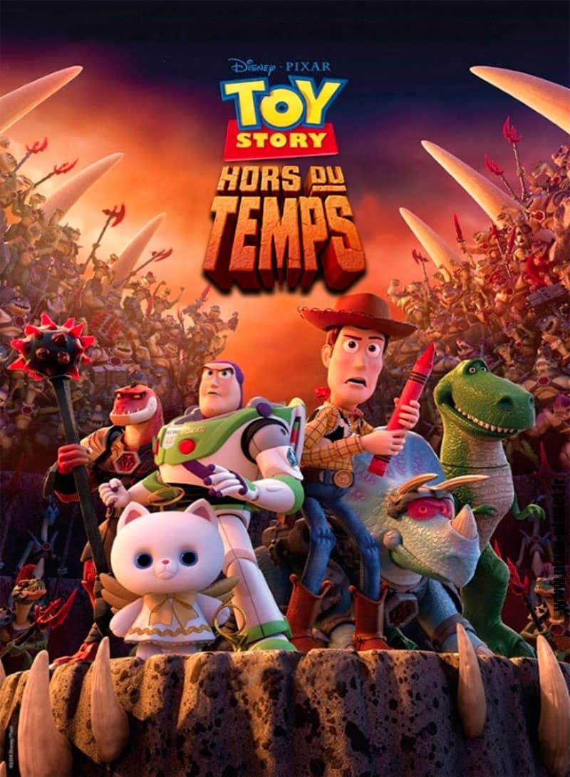 L'affiche de Toy Story: Hors du Temps